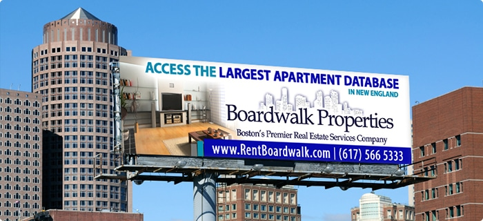 Boston MA Apartments Billboard